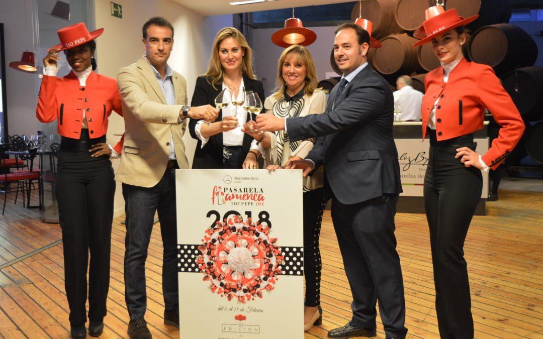 Presentadas las novedades de la Pasarela Flamenca Jerez – Tío Pepe 2018