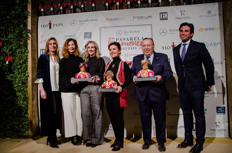 Lleno en la jornada inicial de la Pasarela Flamenca Jerez – Tío Pepe 2018