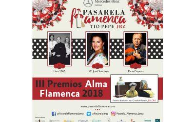 La Pasarela Flamenca Jerez – Tío Pepe anuncia sus premios Alma Flamenca