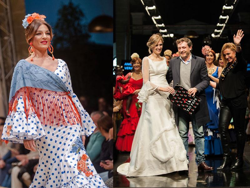 Raquel Bollo y Noelia Margotón, los rostros conocidos de la Pasarela Flamenca Jerez – Tío Pepe 2018